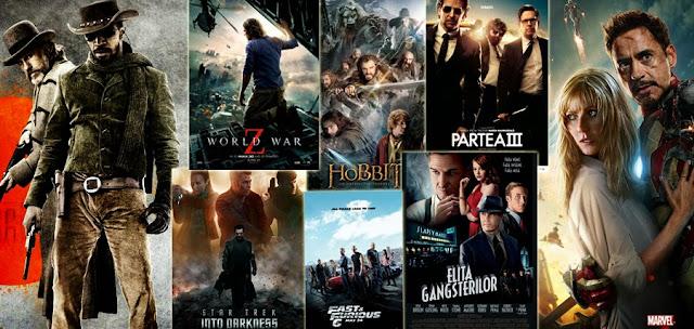 Lista celor mai piratate filme în 2013