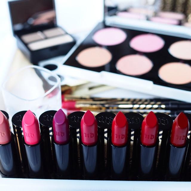 Urban Decay #UDxGwen Gwen Stefani Collection - Lipstick collection, Eyebrow box and cheek palette