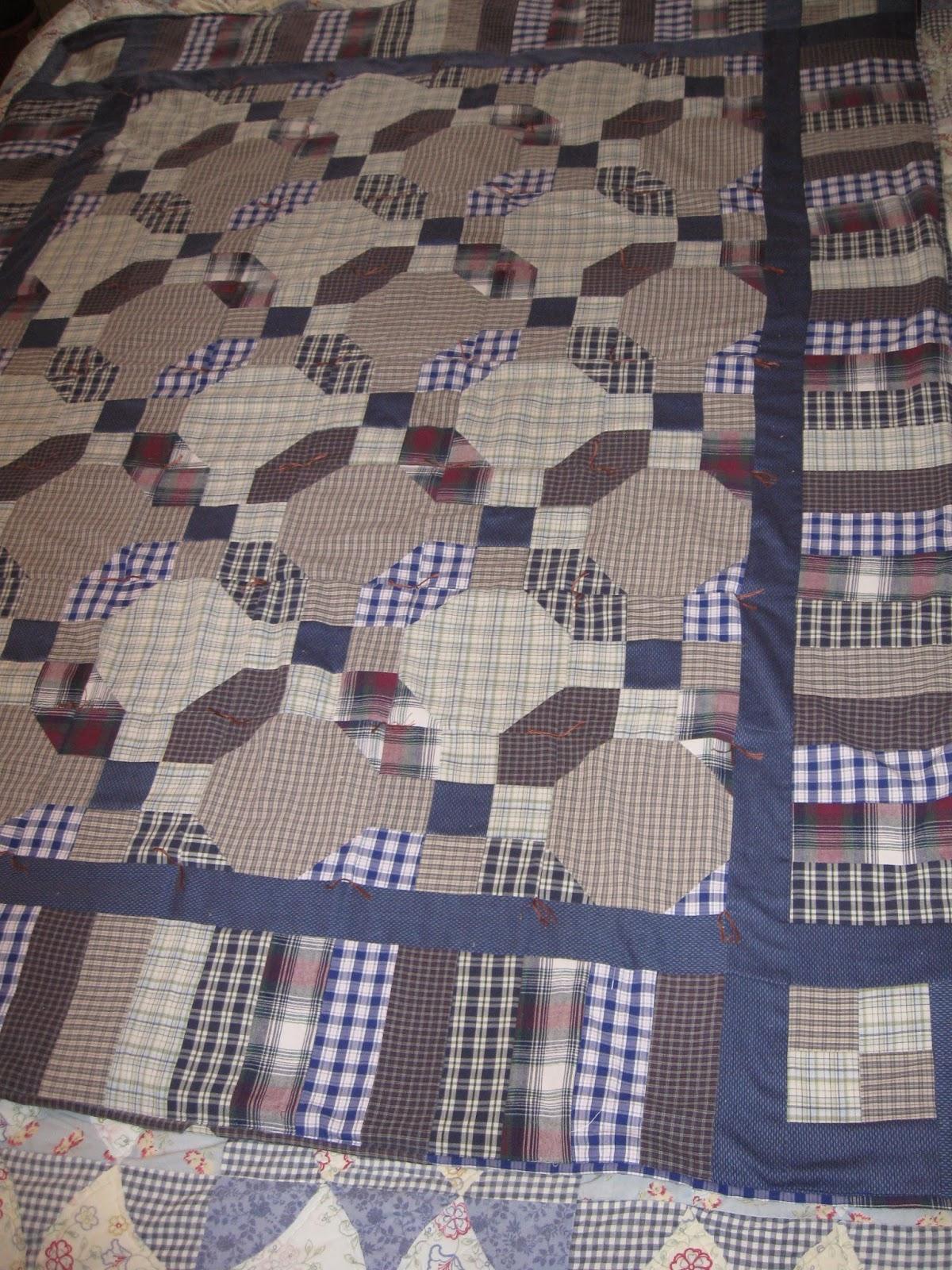 Haven Cottage Crafts A Seven Shirt Quilt