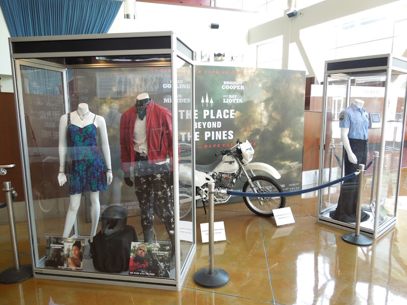 Place Beyond The Pines movie costume exhibit