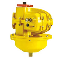 Kinetrol Spring Return Actuator