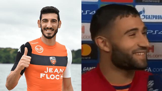 Le tweet parfait d'un joueur de Lorient après l'interview en anglais de Fekir