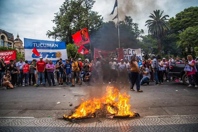 En Tucumán tambien le dijimos NO  a la REFORMA PREVISIONAL