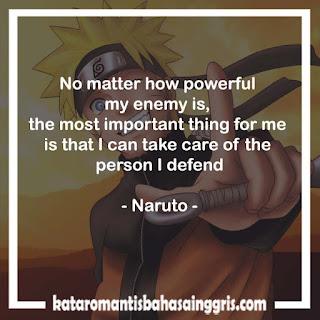 Kumpulan Gambar Wallpaper DP BBM Keren Naruto Bahasa Inggris