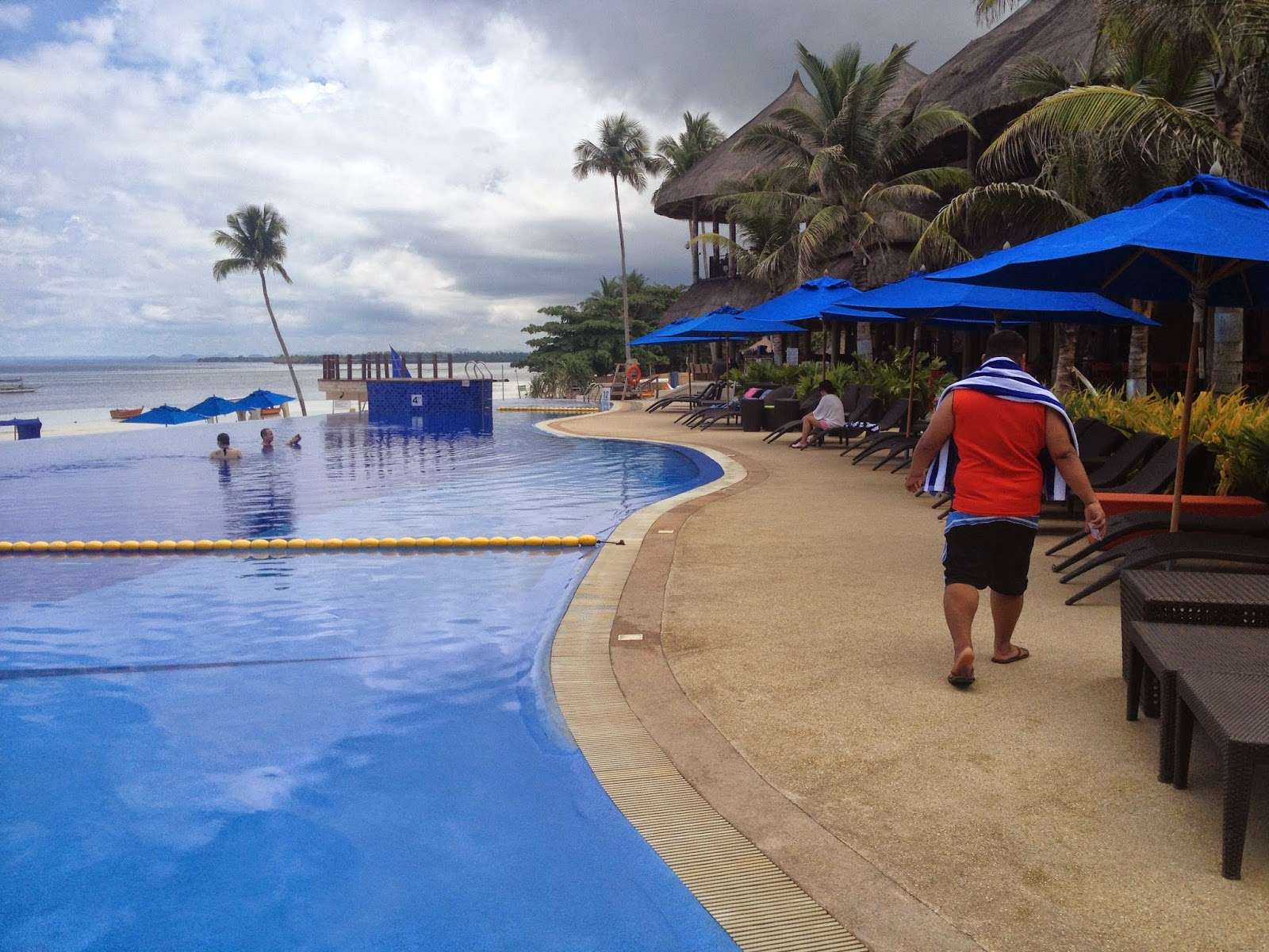 Bellevue Resort and Hotel in Panglao, Bohol, Philippines.