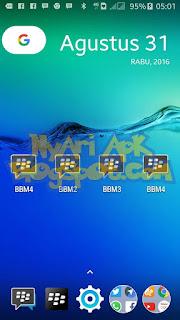 Download Dual BBM2 Mod Versi 3.0.1.25 Apk Terbaru