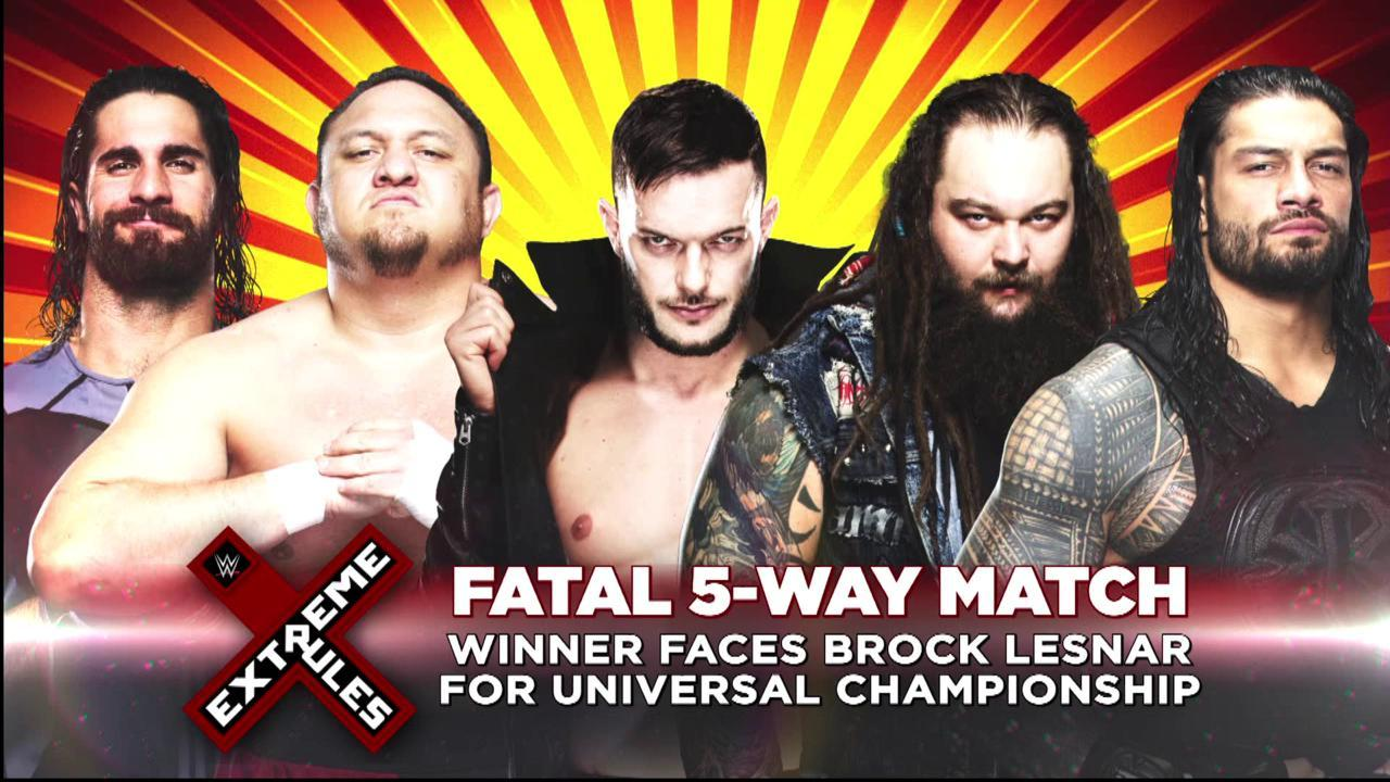 I m not excited at for wwe extreme rules there s a chance i could be in attendance since it s in my hometown of baltimore but the likelihood of this is