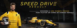 "Promoção ""Speed Drive"" Renault"