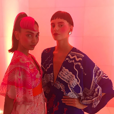 """IMG 1344 - Wednesday 19th September:  Zandra Rhodes LFW SS19 """"Wanting Again, Wanting Ahead"""""""