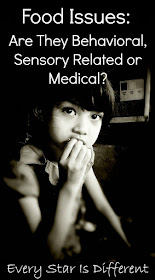 Food Issues:  Are They Behavioral, Sensory Related or Medical