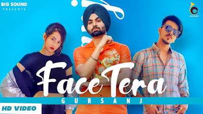Face Tera lyrics penned by Preet Zayne. Latest Punjabi Song Face Tera sung by Gursanj & features Narula Couples (Mr & Mrs Narula - Sam & Reet Narula)