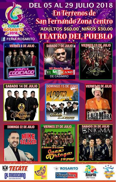 programa feria rosarito 2018