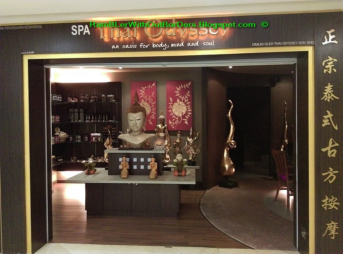 RamBLer WithOut BorDers * }: Thai Odyssey Massage Centre