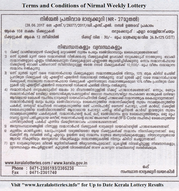 Terms and Conditions_Kerala Lottery_Nirmal
