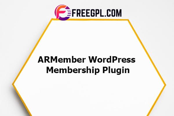 ARMember - WordPress Membership Plugin Nulled Download Free