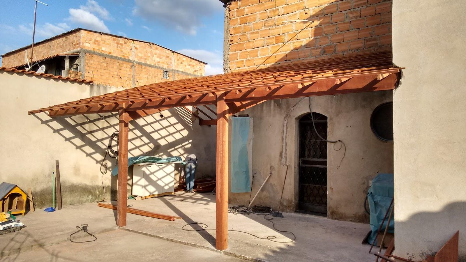 Conhecido Artmetais Calhas e Telhados: Telhado Colonial Com telhas Americanas VG41