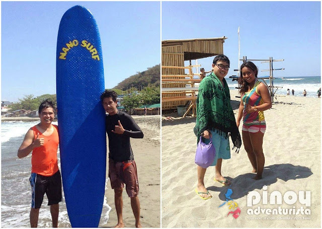 Surfing in La Union Philippines