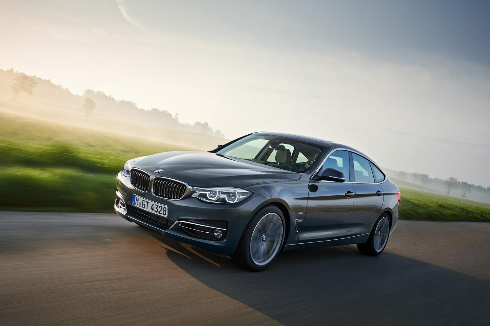 2017 BMW 3-Series Gran Turismo Facelift Detailed In 60 ...