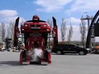 Ternyata Turki Bisa Wujudkan Robot Mobil Transformer