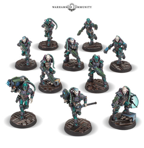 This Week's Pre-Orders with Prices: Van Saar Gangers, Gang War 3, Blood Bowl, and Deepkin Heroes