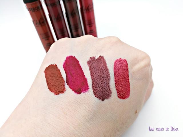 Deborah Milano Lipstick Fluid Velvet Mat mate metal mat makeup beauty