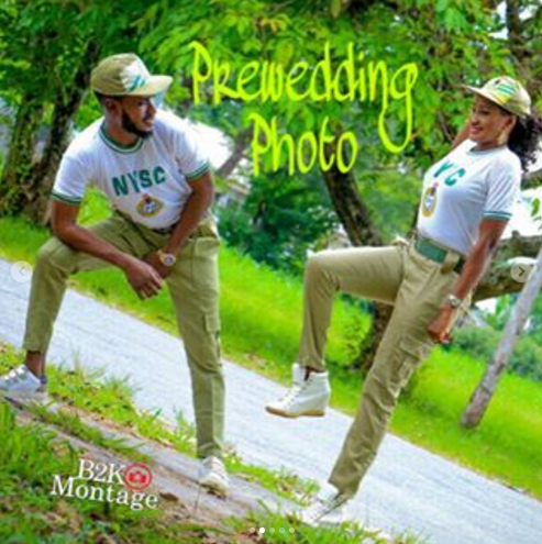 11 - Beautiful pre-wedding photos of couple who met during NYSC