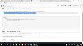 mendaftarkan blog pada bing webmaster tools agar terindex
