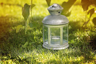 Linterna para decorar exteriores
