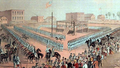Execution of 38 Dakota men on December 26, 1862