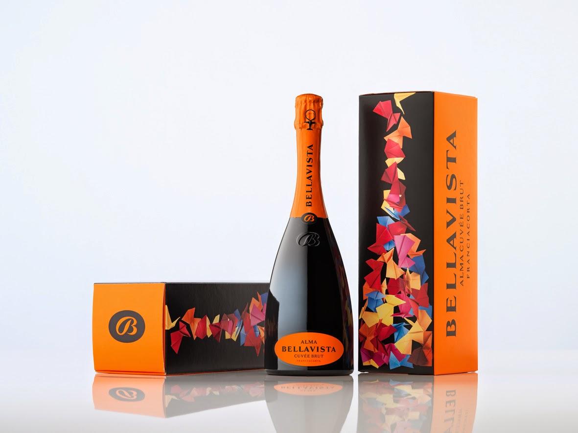 franciacorta spumante colore packaging colori forti confezione tradizione design vino