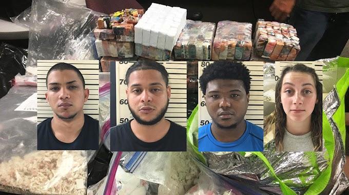 La DEA y el NYPD confiscan heroína valorada en US$4MM a cuatro dominicanos y una mujer caucásica