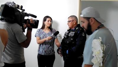 SBT mostra Varjota para o Brasil em homenagem ao ST. Linha Dura no Domingo Legal.