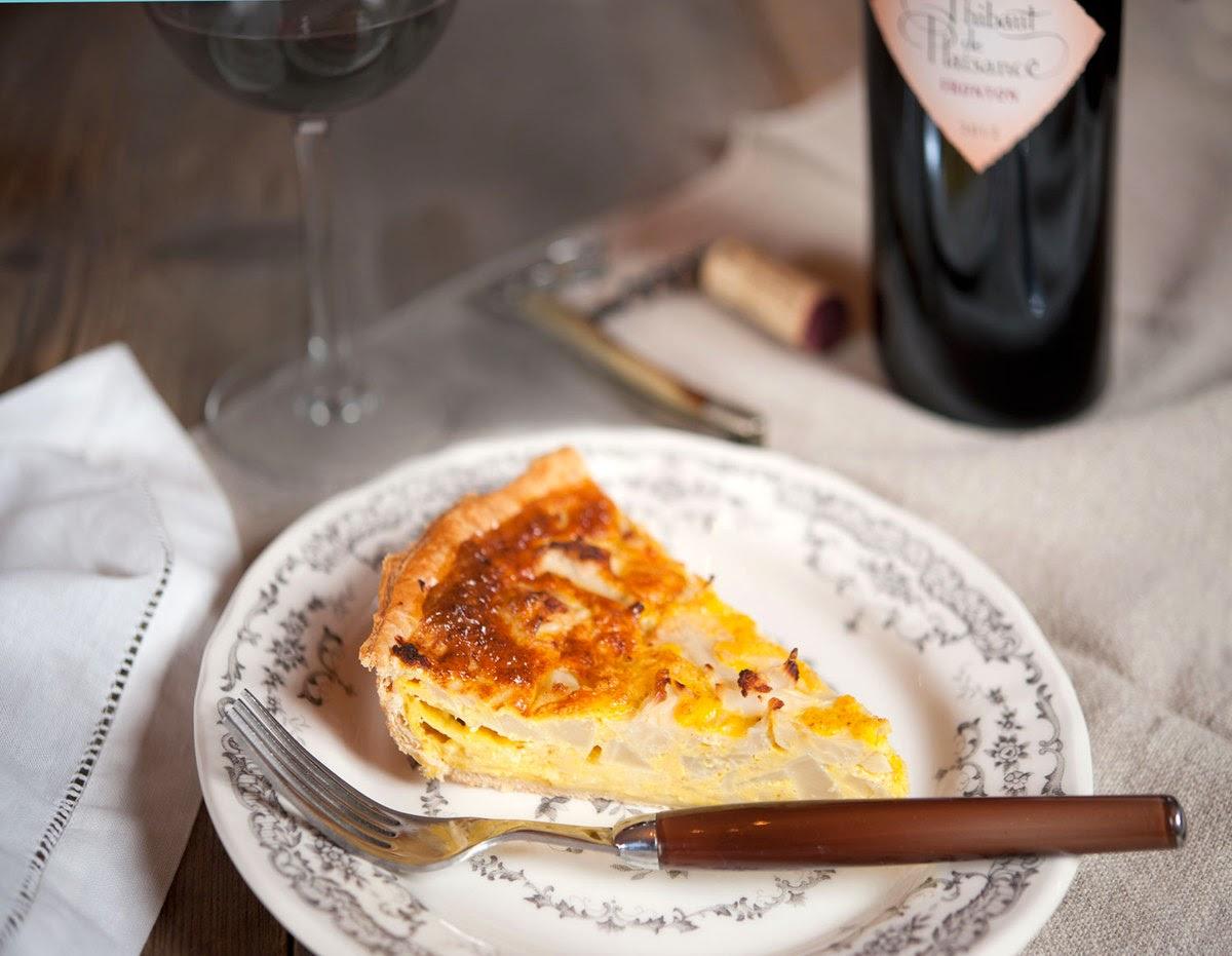 Recette : Tarte au chou-fleur et aux trois fromages