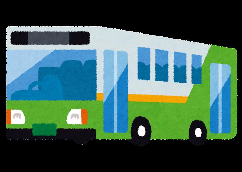 路線バスのイラスト かわいいフリー素材集 いらすとや