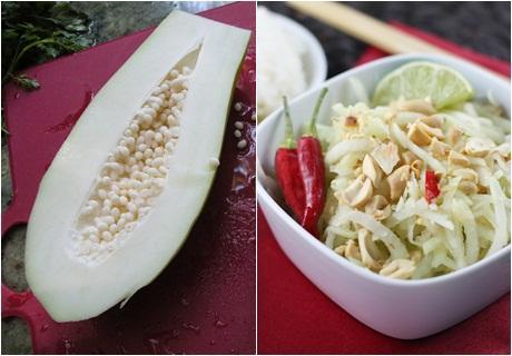 Resep salad buah dari pepaya muda