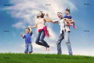 Dinheiro sobrando,familia feliz!