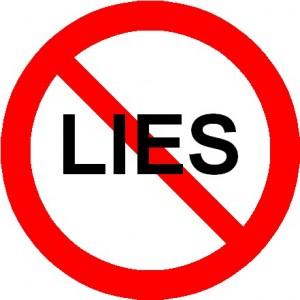 palsu bohong