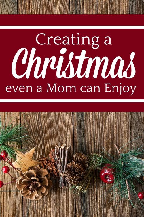 Creating a Christmas Even a Mom Can Enjoy #christmas #homeschool #christmasschooling