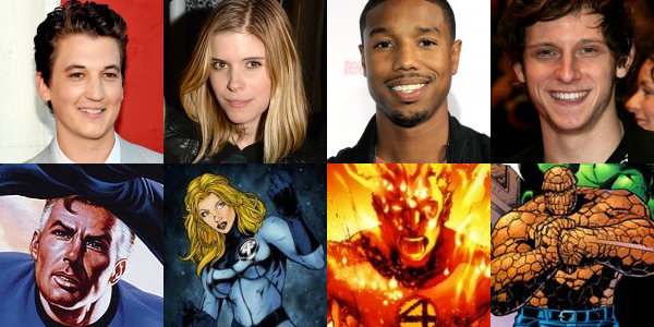 Casting The Fantastic Four