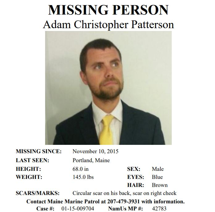 Missing Person's Commentary: New to NamUs - Adam Christopher