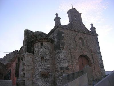 Pedro Saputo, Almudévar, ermita, virgen de la Corona