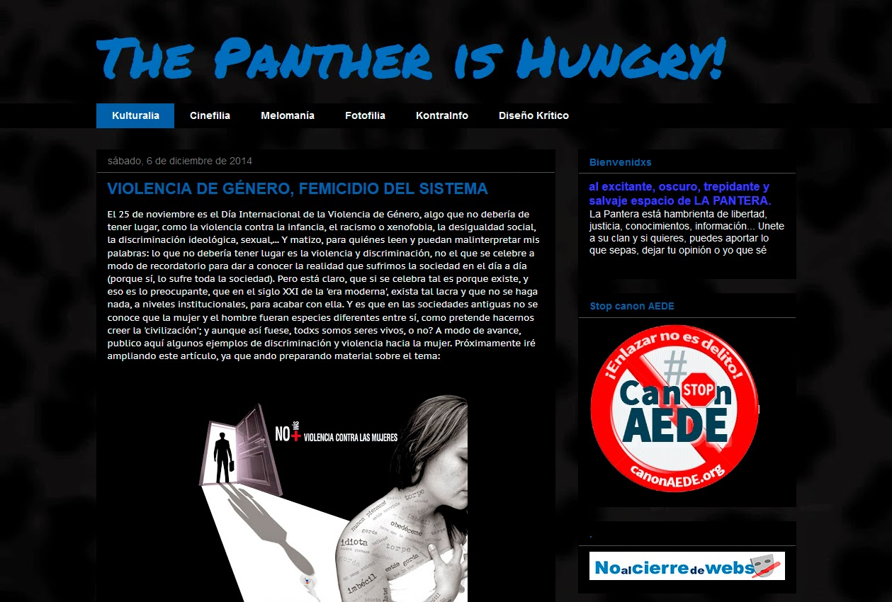 http://thepantherishungry.blogspot.com.es/