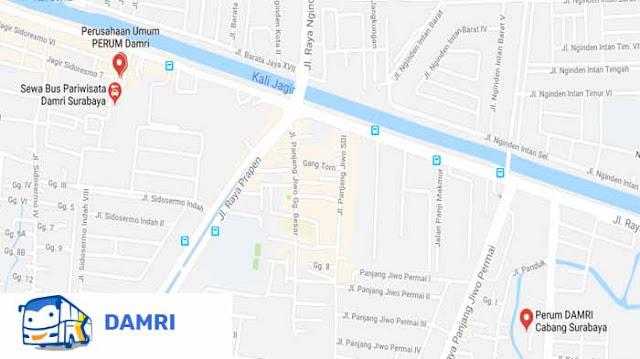 Bus Damri Surabaya: Harga Tiket, Jam Operasional, Rute & Cara Naiknya