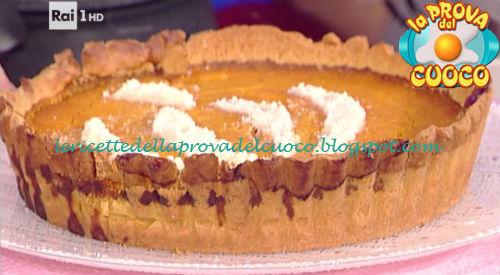 Torta di zucca e mandorle ricetta Moroni da Prova del Cuoco
