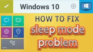 windows 10 won't sleep