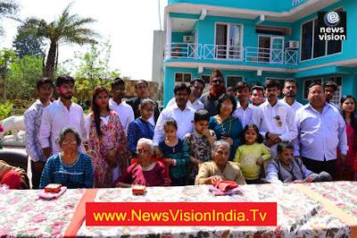 Holi Celebration At Old Age Home