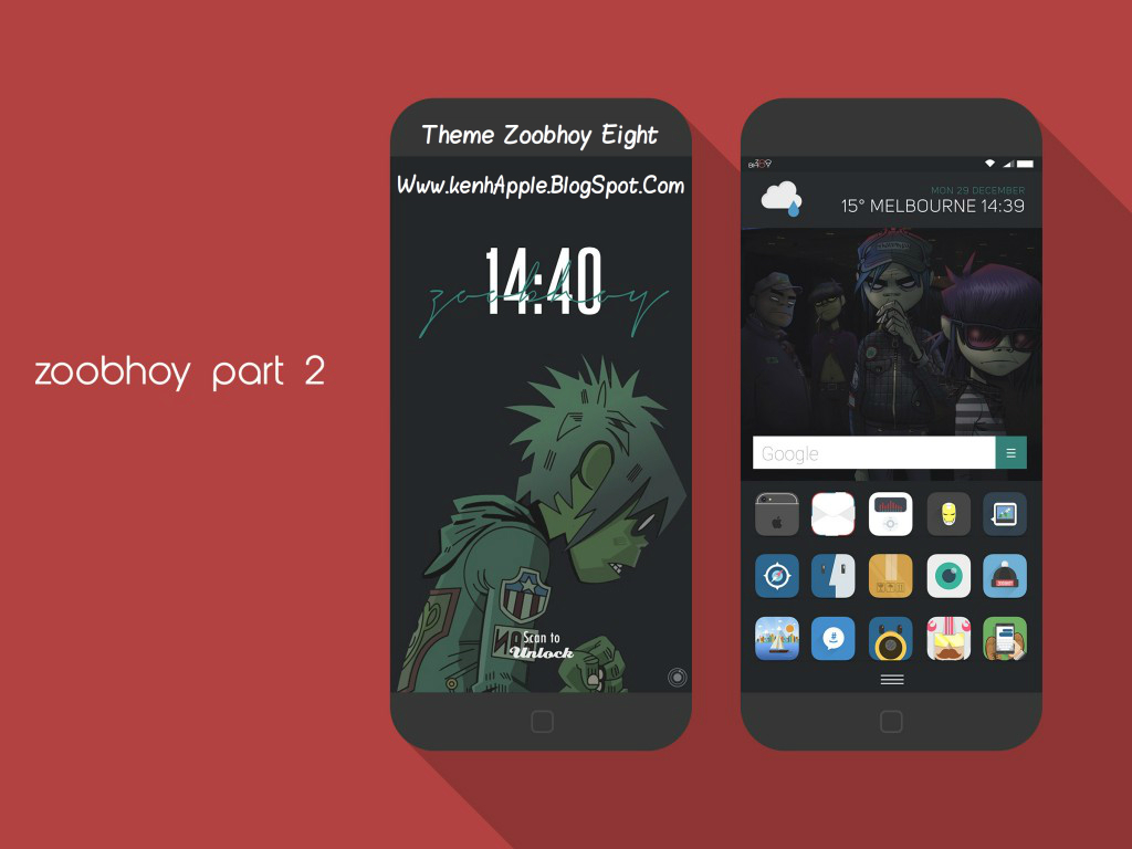 Theme Zoobhoy Eight