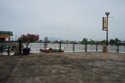Waterfront di Kuching, Sarawak, Malaysia