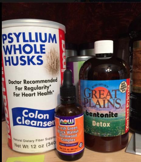 how to take bentonite clay and psyllium husk