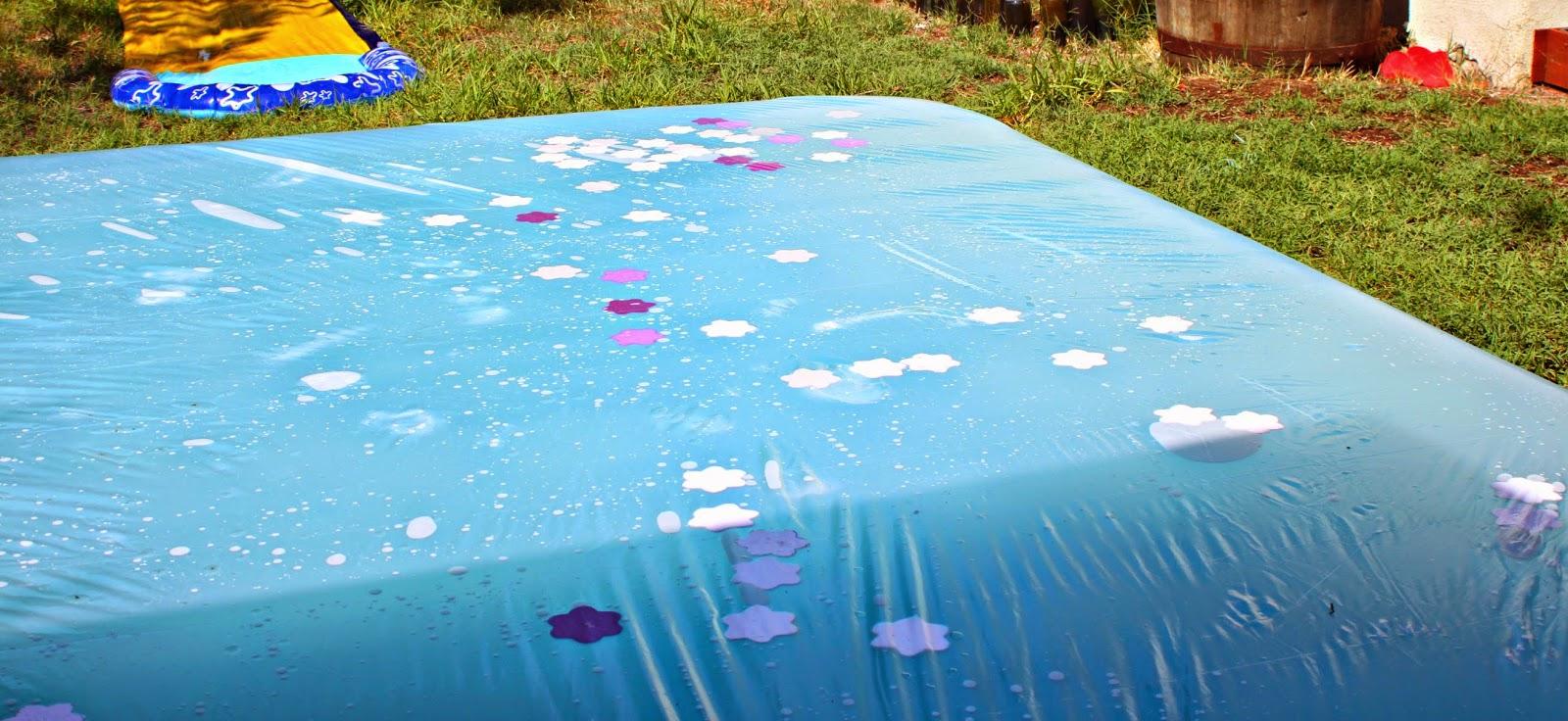 How to make a #backyard water blob { video tutorial.